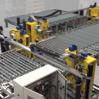 The Glasswerks line under pre-shipment test at Ashton Industrial