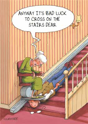 CHUCKLE stair lift