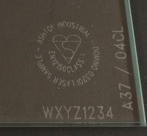 lasermark V4 closeup